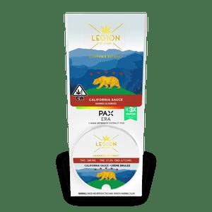 Legion of Bloom    California Sauce PAX POD-  Creme Brulee