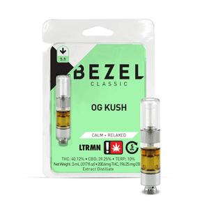 Bezel   OG Kush - 1:1 - .5G Cartridge