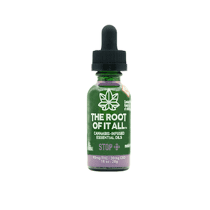 The Root of It All   STOP Cannabis-Infused Sublingual Essential Oil