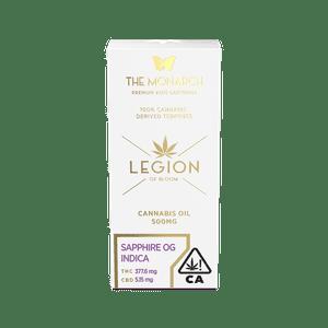 Legion of Bloom   Monarch .5 Gram Vape cartridge- Sapphire OG