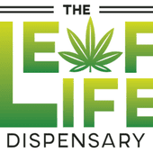 Logo for Leaf Life Dispensary - Now Open!