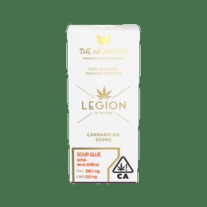 Legion of Bloom   Monarch .5 Gram Vape Cartridge- Sour Glue