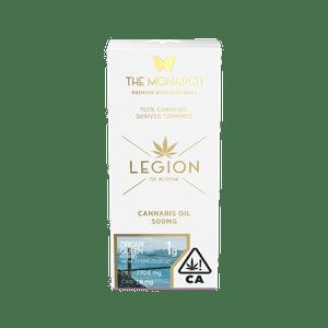 Legion of Bloom   Monarch 1Gram Vape cartridge- Dream Queen