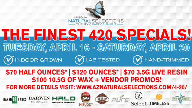 Arizona Natural Selections of Mesa