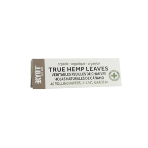 """RYOT®   RYOT® 1 1/4"""" Unbleached 100% Pure Hemp Pulp Rolling Papers - BY SMOKERS"""