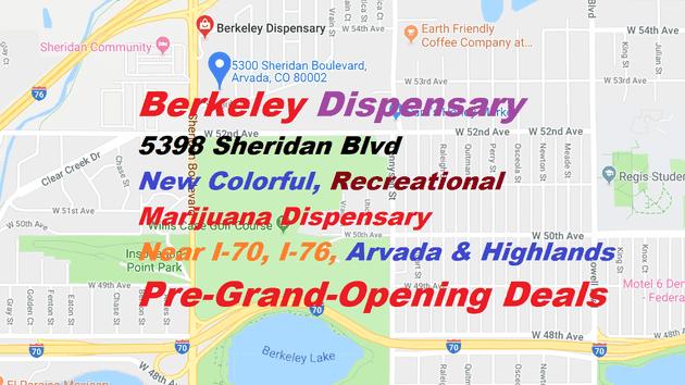 Berkeley Dispensary - NOW OPEN!