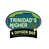 Logo for Trinidad's Higher CBD & Oxygen Bar