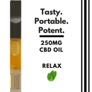 Pure MediCanna CBD   1 Gram CBD Vape Cartridge - Relax