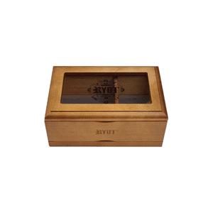 RYOT®   RYOT® 3x5 Glass Top Box in Walnut