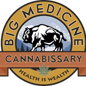 Logo for Big Medicine Cannabissary