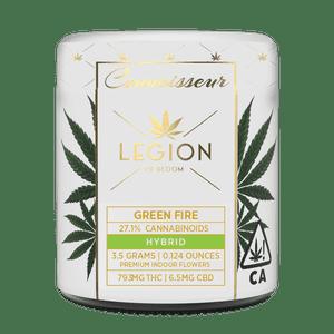 Legion of Bloom   Connoisseur Flower-  Green Fire