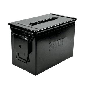 """RYOT®   RYOT® """"Destroyer"""" Waterproof Large Ammo Can w/ Pick-n-Pluck Foam w/Branding in Black"""