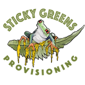 Logo for Sticky Greens Provisioning