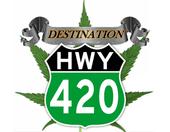 Logo for Destination Hwy 420