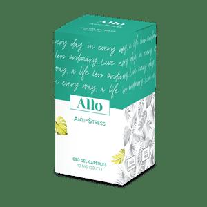 Allo   Allo Anti-Stress CBD Gel Capsules- 10mg
