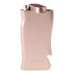"""RYOT®   RYOT® Aluminum """"SUPER"""" Taster Box with Bottle Opener in ROSE GOLD with Aluminum Bat"""