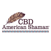 Logo for CBD American Shaman of La Mirada