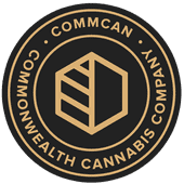 Logo for CommCan, Inc. – The Commonwealth Cannabis Co.