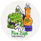 Logo for Fire Zips Delivery