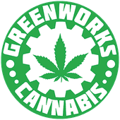 Logo for Greenworks - Greenwood