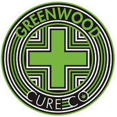 Logo for Greenwood Cure Co