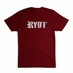 RYOT®   RYOT® Tee Shirt in Burgundy