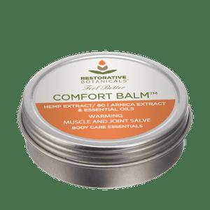 Restorative Botanicals   CERTIFIED USA HEMP COMFORT BALM™ Warming Muscle & Joint Salve