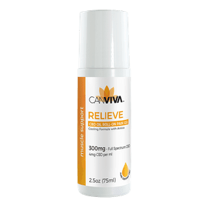 CANVIVA™   CANVIVA - RELIEVE CBD Oil Roll-On Pain Gell 300mg