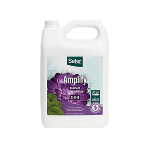 Safer Brand   Amplify (2-0-8) Hydroponic Nutrient Fertilizer Liquid Concentrate - 1 gallon By Safer® Brand