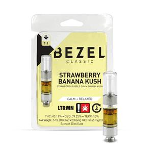 Bezel   Strawberry Banana Kush - 1:1 - .5G Cartridge