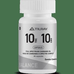 Tilray   Tilray 10:10 Balance Capsules