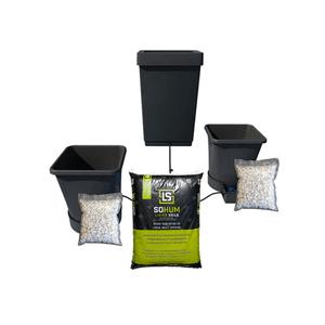 SoHum Soils   2 Pot Starter Cultivation Kit