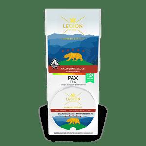 Legion of Bloom    California Sauce PAX POD- Private Reserve OG