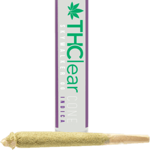 THClear   PRE-ROLL CONES - LIME