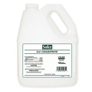 Safer Brand   Safer® Brand 3-in-1 Garden Spray Concentrate 1 gal
