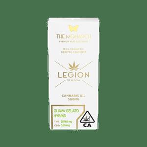 Legion of Bloom   Monarch .5 Gram Vape cartridge-  Guava Gelato