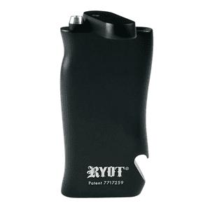"RYOT®   RYOT® Aluminum ""SUPER"" Taster Box with Bottle Opener in BLACK with Aluminum Bat"