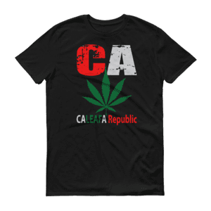 CaLeafa   CaLeafa Republic T-Shirt